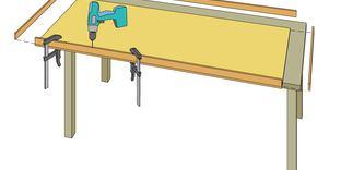 Gjuta en bordsskiva i betong